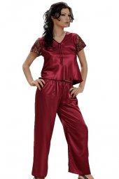 dffe177d72e5 Pánové si mohou zvolit modré pánské saténové pyžamo s knoflíky (Adam)